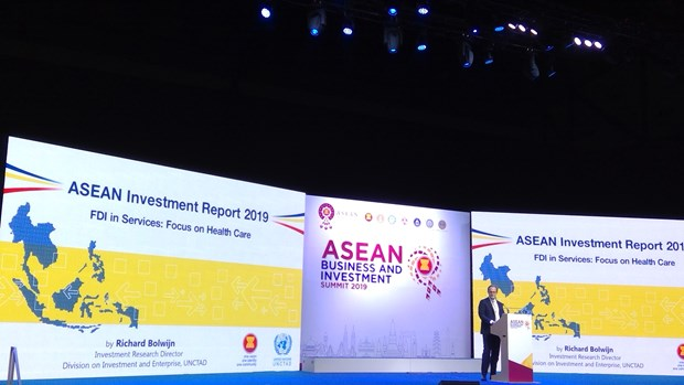 ASEAN attracts record FDI inflow in 2018 hinh anh 1