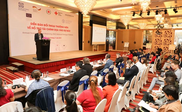 National dialogue forum on forecast-based financing opens hinh anh 1