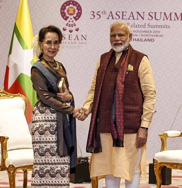 India aims to boost bilateral cooperation with Myanmar hinh anh 1