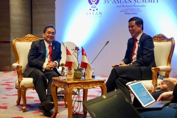 Indonesia, Singapore agree to soon complete bilateral trade deal hinh anh 1
