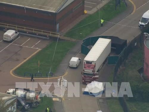 Deputy PM chairs meeting over Essex lorry deaths hinh anh 1