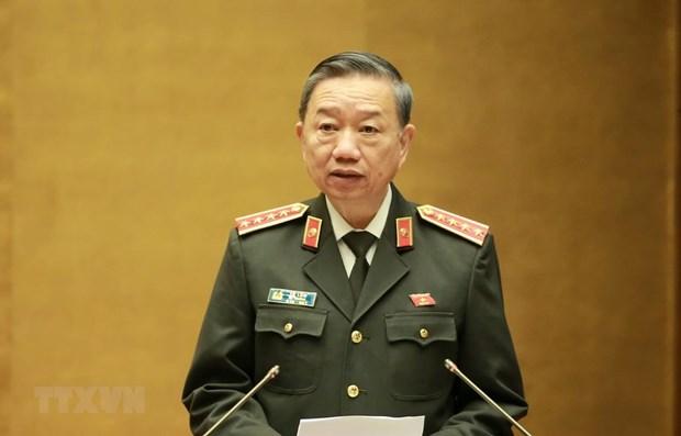 Legislators hear report on crime combat in 2019 hinh anh 1