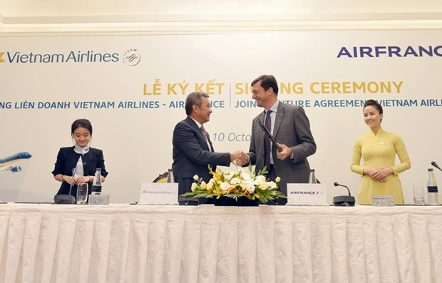 Vietnam Airlines - Air France joint venture carry over 600,000 passengers hinh anh 1