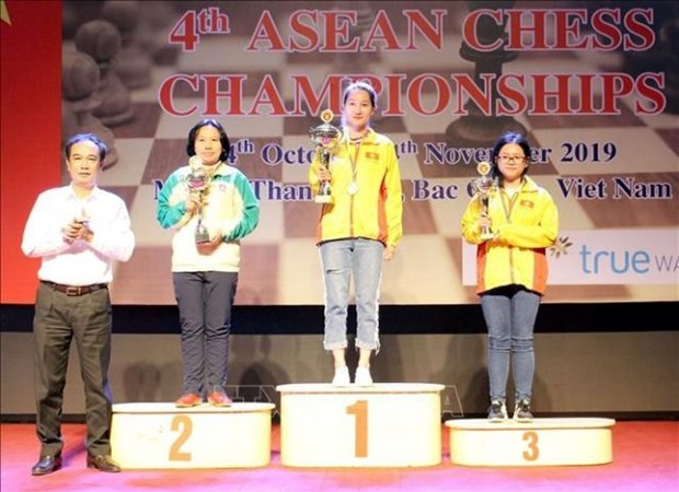 Vietnam dominates ASEAN Chess Championships 2019 hinh anh 1