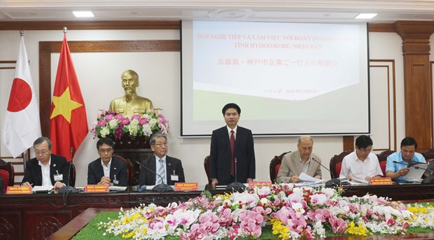 Japanese firms explore investment climate in Ha Nam province hinh anh 1