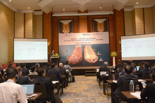 Norwegian firms ready to share experience in LNG development hinh anh 1