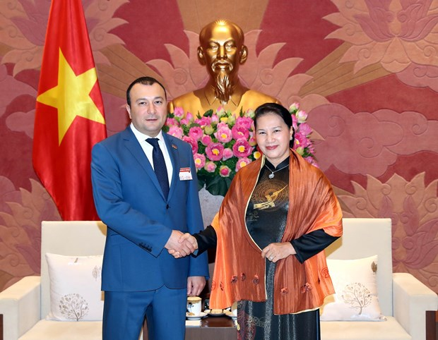 NA leader praises traditional friendship with Armenia hinh anh 1