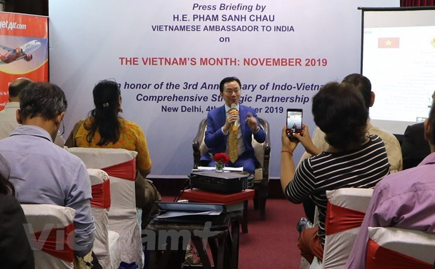 Vietnam's Month to be held in India hinh anh 1