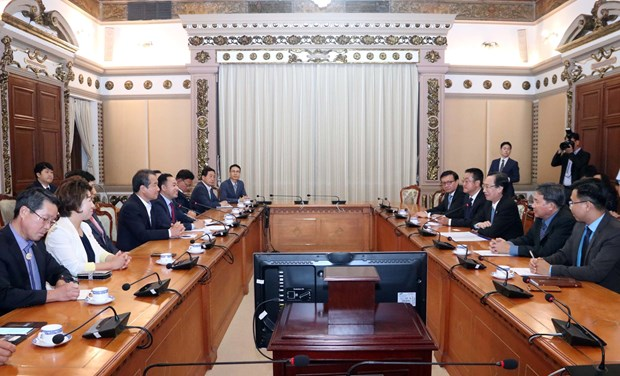 HCM City beef up cooperation with RoK's Gymcheon city hinh anh 1