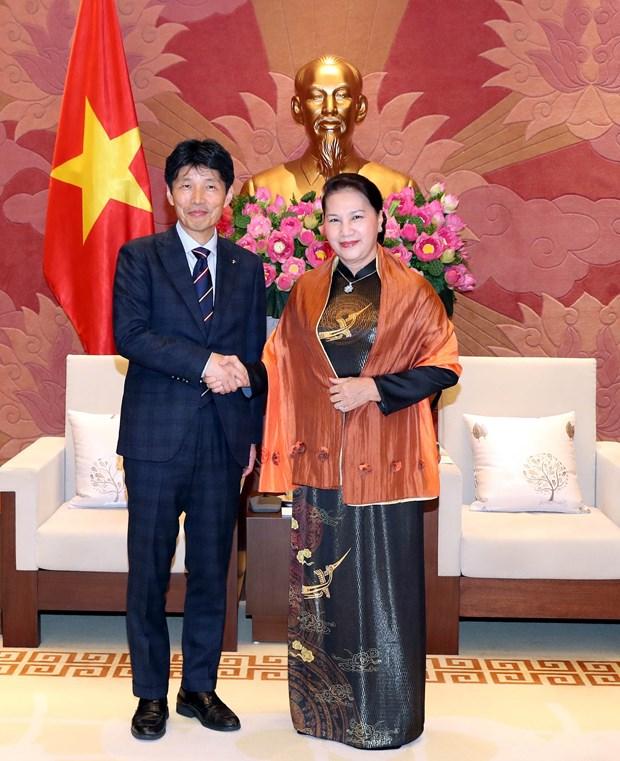 Top legislator greets Japan's Gunma prefecture delegation hinh anh 1