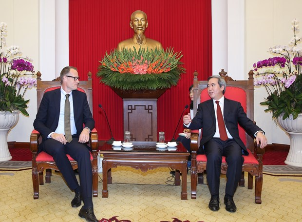 Party official receives Danish Secretary for Energy, Utilities and Climate hinh anh 1