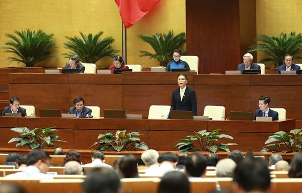 13th working day of 14th NA's eighth session hinh anh 1