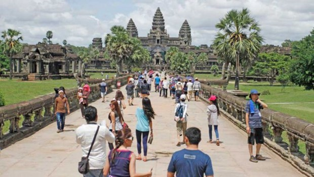Cambodia serves over 4.8 million foreign visitors in 9 months hinh anh 1