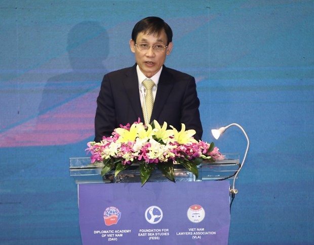 South China Sea International Conference opens in Hanoi hinh anh 2