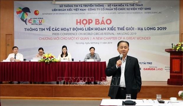 Quang Ninh to host World Circus Festival hinh anh 1