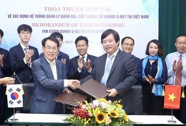 RoK helps Vietnam develop qualification management system hinh anh 1