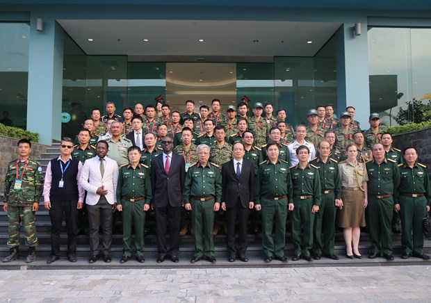 Course held in preparation for peacekeepers hinh anh 1