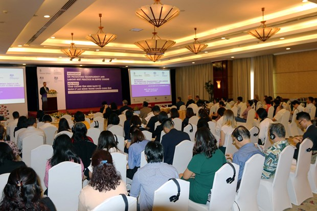 Workshop talks labour best practice in supply chains hinh anh 1