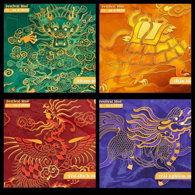 Four sacred animals to represent Hue Festival 2020 hinh anh 1
