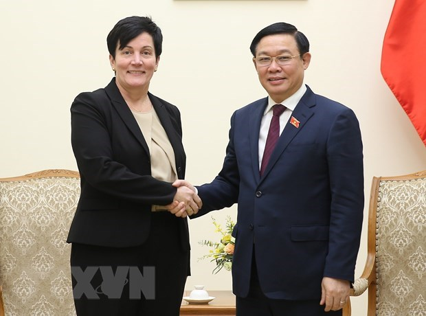 Deputy PM Hue urges IFC to buy stakes in major commercial banks hinh anh 1