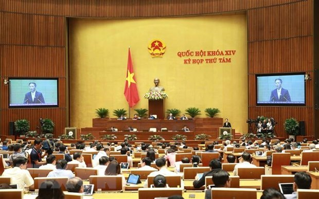 NA continues questioning ministers of industry and trade, home affairs hinh anh 1