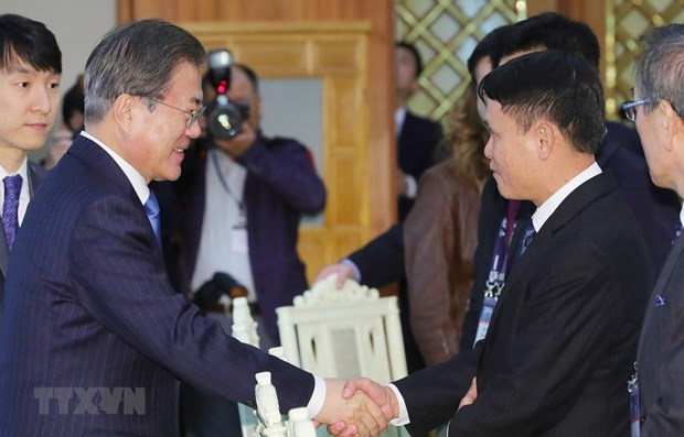 RoK President hails relations with Vietnam hinh anh 2