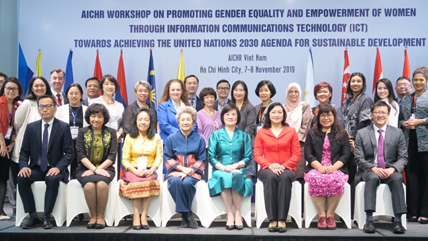 ICT helps promote gender equality, empowerment of women: workshop hinh anh 1