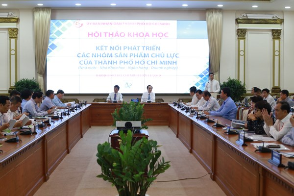 Collaboration needed to support HCM City's industrial products hinh anh 1