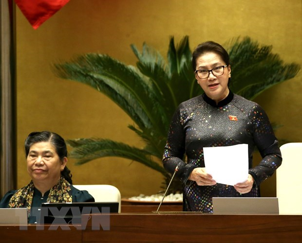 NA Chairwoman requires Government to effectively implement NA resolutions hinh anh 1