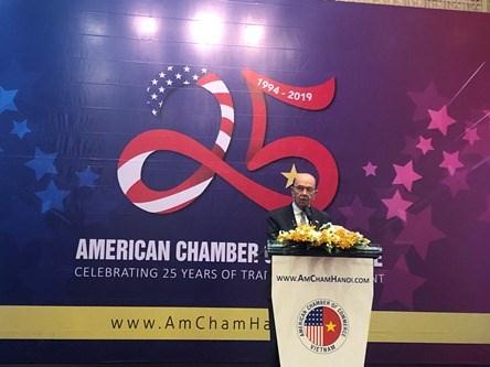 AmCham Hanoi celebrates 25th anniversary hinh anh 1
