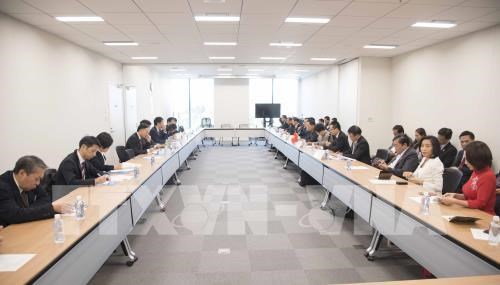 Vietnam-Japan economic cooperation dialogue held in Tokyo hinh anh 1