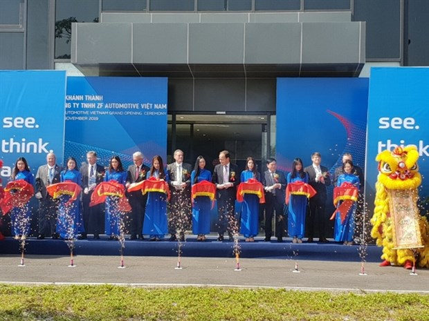 German company ZF opens first plant in Vietnam hinh anh 1