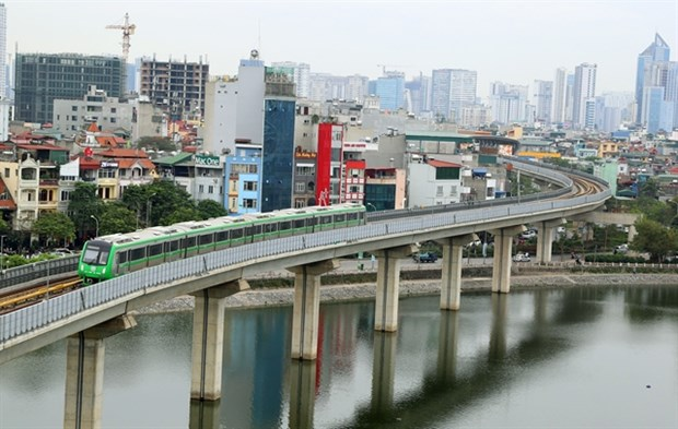 Urban railway helps reduce carbon emissions: JICA hinh anh 1