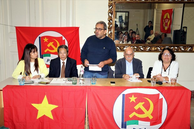 Italian communist party talks about President Ho Chi Minh hinh anh 1