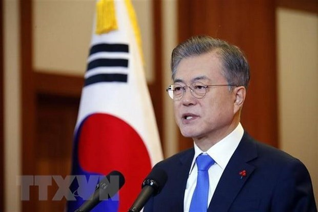 Ceremony welcomes ASEAN-RoK Commemorative Summit hinh anh 1