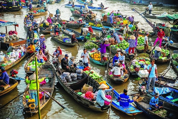 Travel mart in Can Tho to promote Mekong Delta's tourism hinh anh 1