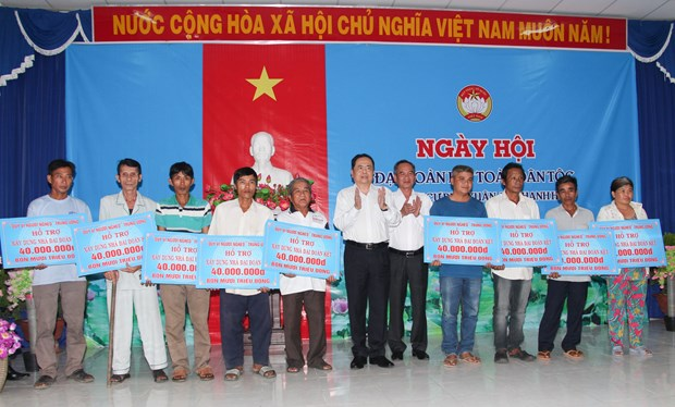 Great national solidarity festival observed in localities hinh anh 1