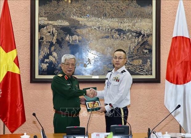 Vietnam, Japan step up defence ties hinh anh 1