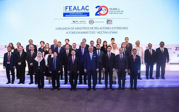Vietnam attends FEALAC foreign ministers' meeting hinh anh 1