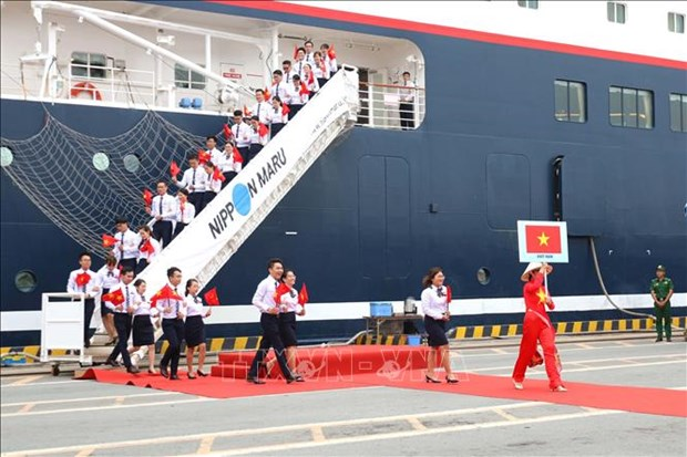 Ship for Southeast Asian Youth Programme arrives in Vietnam hinh anh 1
