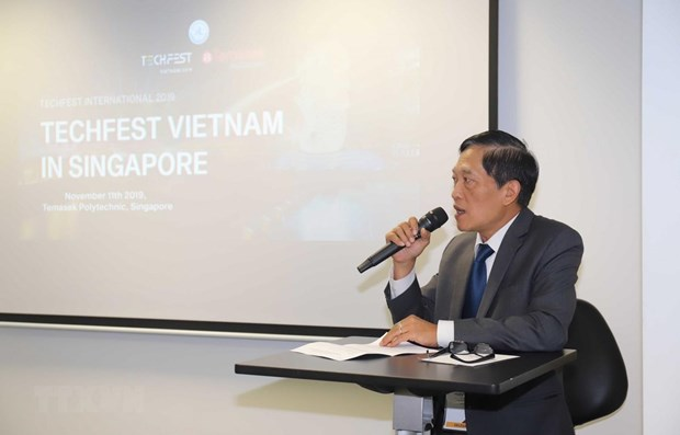 Vietnam promotes innovative startup ecosystem in Singapore hinh anh 1