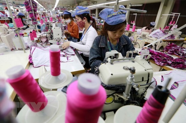 Vietnam's exports estimated at 217.05 bln USD in 10 months hinh anh 1