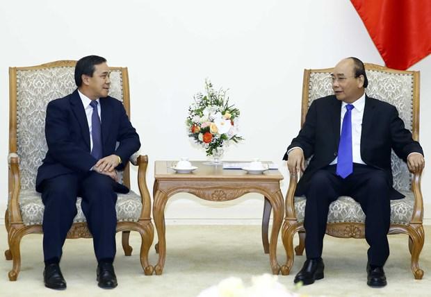 Prime Minister hosts new Lao ambassador hinh anh 1
