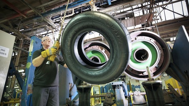 UK Dunlop to build aircraft tyre plant in Indonesia hinh anh 1