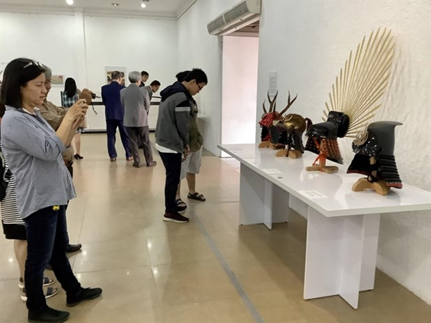 Exhibition on Japanese martial arts opens in HCM City hinh anh 1