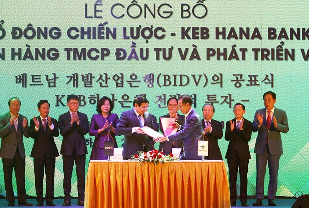 KEB Hana named strategic shareholder of BIDV hinh anh 1