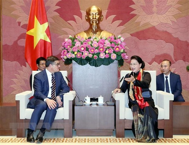NA leader: Vietnam considers Germany an important partner hinh anh 1