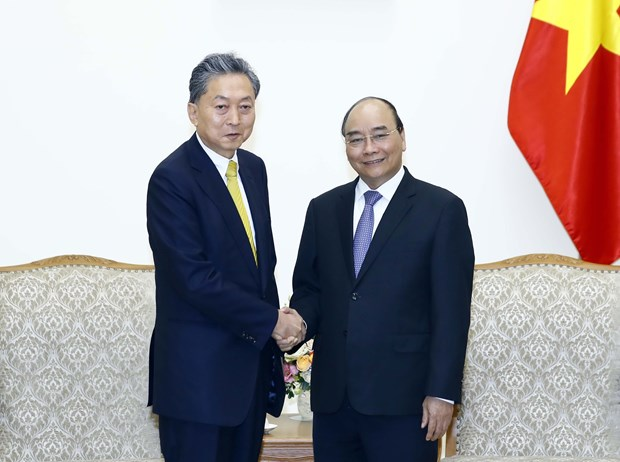 PM receives President of East Asian Community Institute of Japan hinh anh 1