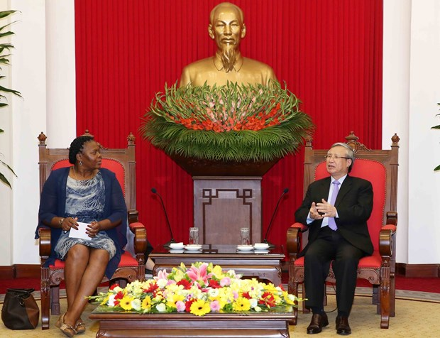 Party official affirms Mozambique's importance to Vietnam hinh anh 1
