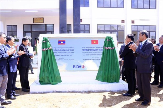 Vietnam-funded school handed over to Laos hinh anh 1